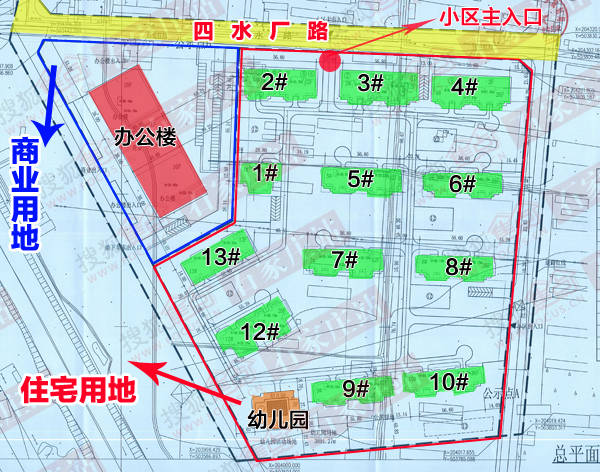 21平方米,幼儿园建筑面积为2593.98平方米.