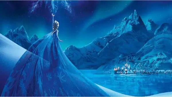 冰雪奇缘主题场景,送给爱自拍的你 梦幻童话小镇,爱斯基摩小屋 丰富