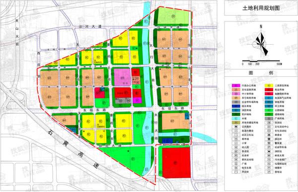 曝石家庄1省级开发区规划区位图 将拆4旧村