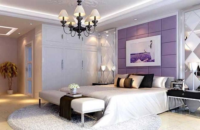 管庄公租房100平米二居客厅装修设计图片