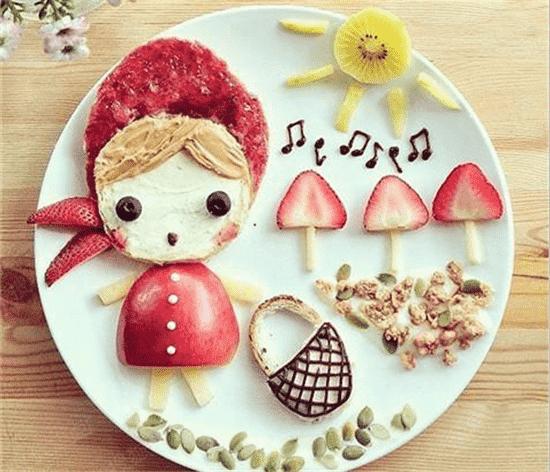 """水果""""变幻""""出可爱的动物,漂亮绚丽的花朵,diy一份属于自己的水果拼盘"""