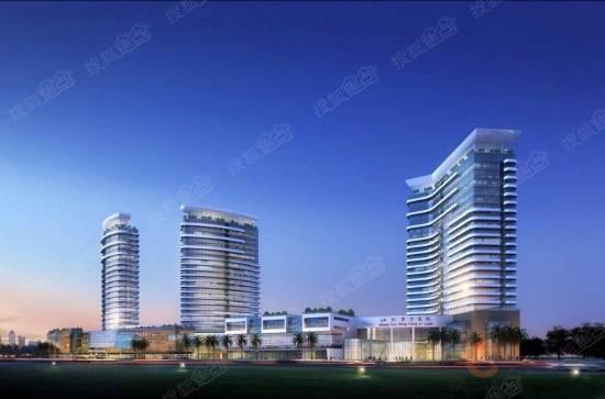 东方医院效果图-发能 东方医院取得建设用地规划许可证