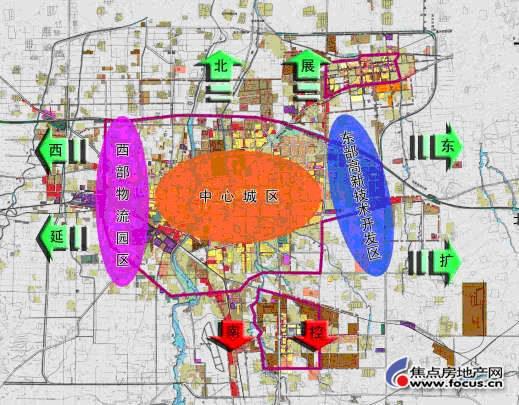 城市规划:潍坊市城市规划