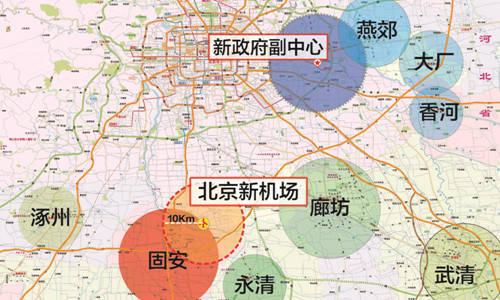 香河地图高清版2018