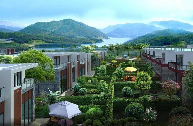 富力泉天下目前在售项目别墅墅,为时光的山林带有作,收官200-500平方太阳能三安几个层别墅图片