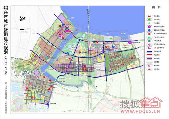 绍兴市未来5年规划公示 滨海镜湖为建设重点图片 56200 550x389