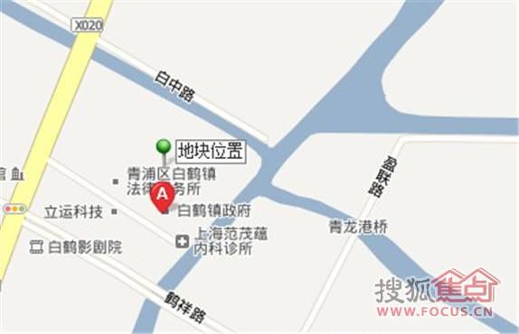 白鹤镇吴淞江北侧地块
