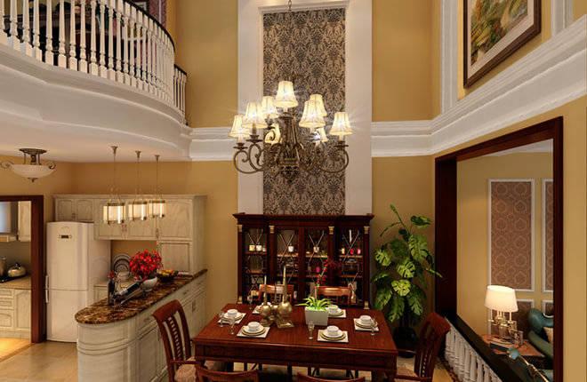 首创国际半岛(高层)240平米别墅客厅装修设计图片