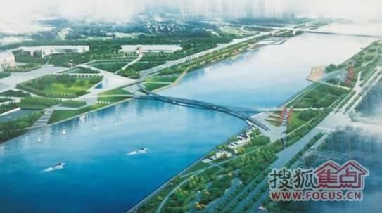 阳春市河西总体规划图