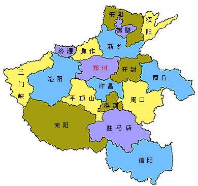 郑州地图全图高清版本