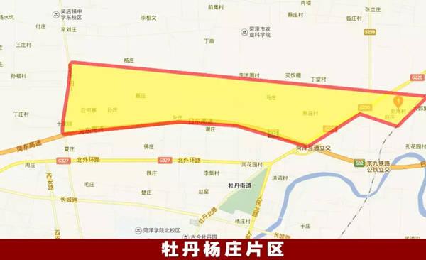 菏泽马岭岗镇地图