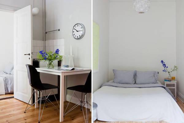 一室一厅 45平方米超实用小户装修参考--组图