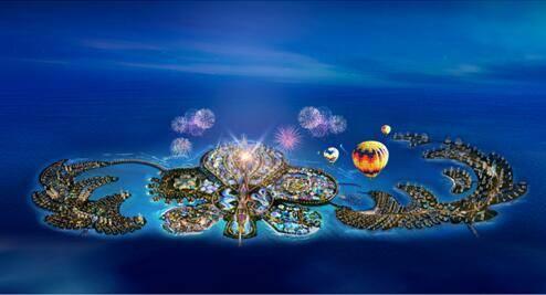 中国海南海花岛 献给世界的海居梦