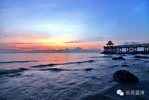 长岛蓝湾婚纱摄影基地全面开放