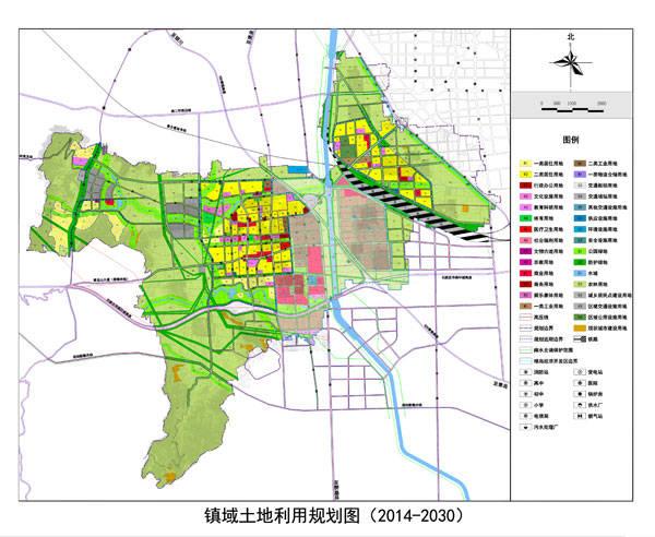 铜冶镇土地利用规划图-石家庄铜冶镇规划建鹿泉南部区域副中心