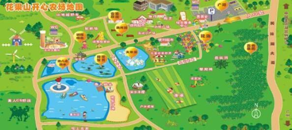 芒荡山风景名胜区地图
