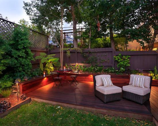 10个别墅后院设计 打造私家御花园