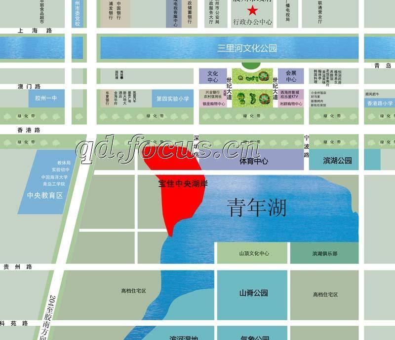 红岛经济区规划出炉 新机场将落户胶州高层6000元起