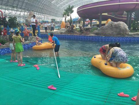 华北地区的室内水上主题公园在山西晋中开园