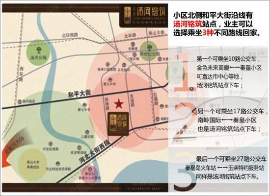 实地探访:秦皇岛七中学区房——淇鑫汤河铭筑