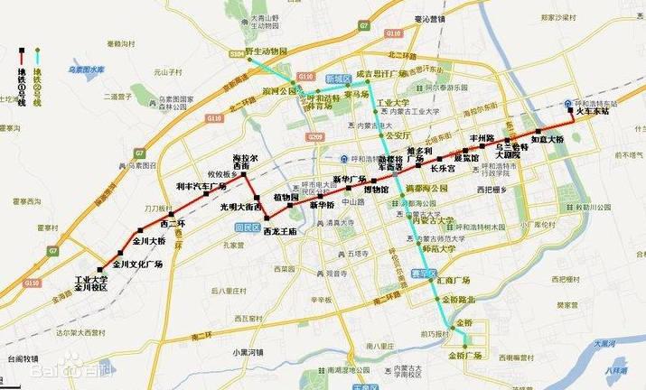 海拉尔 铁路线路 地图