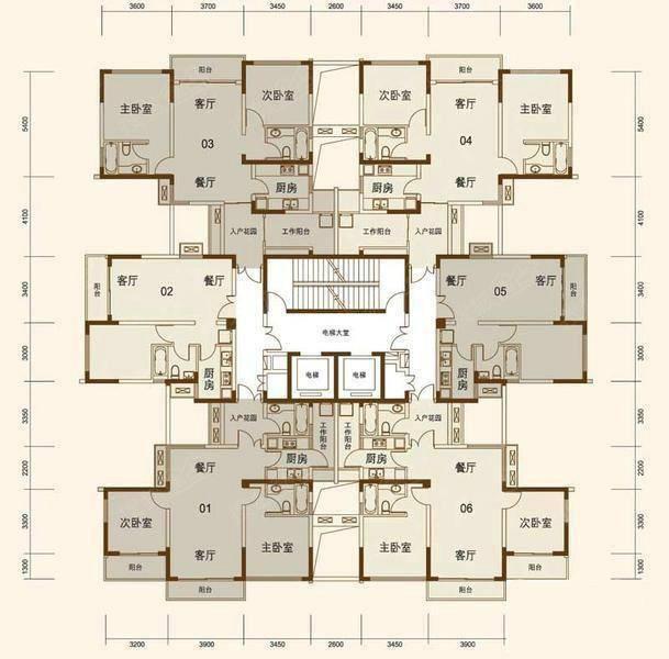 塔楼和板楼怎么选房?楼房平面图告诉你答案