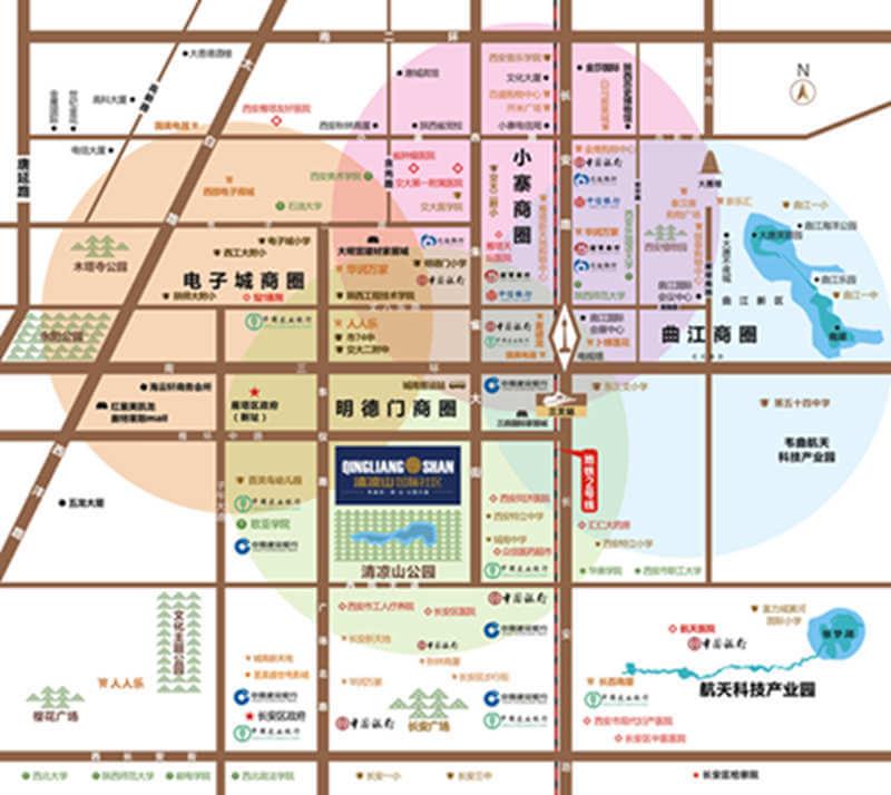 雁户庄村地图