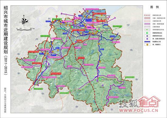绍兴市未来5年规划公示 滨海镜湖为建设重点图片 61283 550x389