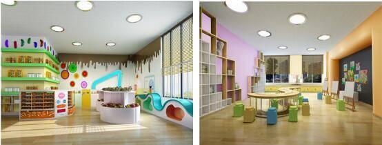 幼儿园球类墙面布置图片