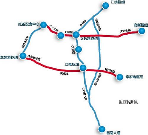 广州BRT17的路线图片