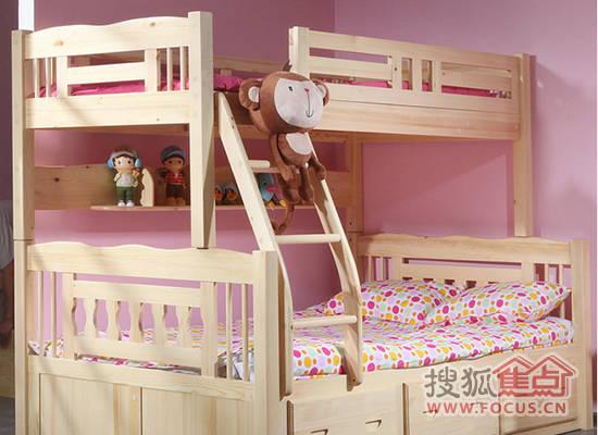 上下铺儿童卧室装修效果图 致睡在上铺的亲人