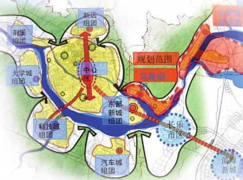 青岛自贸区规划图