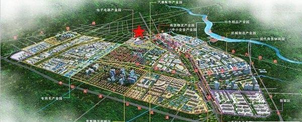 新埠岛万达广场规划图