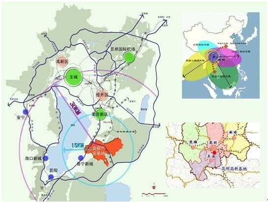 最新昆明市规划图