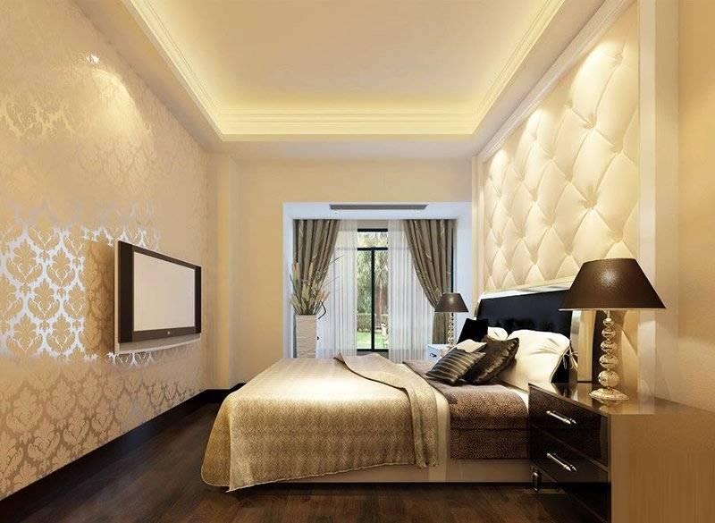 影视墙可以跟吊顶颜色区别大一点,其实建议影视墙的颜色使用暗色调,这样在你观看电视节目或者坐下来休息时不会抓走你的注意力,暗色调还有一个好处容易陪灯饰和家具,这样会更凸显其他房间内的元素,不然影视墙太扎眼整个房间气氛会一直居高不下,人会感觉很不舒服。如何塑造卧室温馨空间,小编让你欣赏卧室影视墙装修效果图大全2014图片,帮你打造温馨卧室!