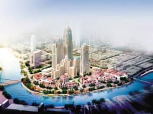 天津中心城区一主两副规划方案(征求意见稿)图片