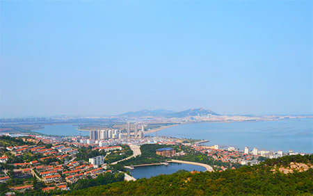 仙姑顶风景区,悦海公园,海上公园,威海公园,威海港,刘公岛.