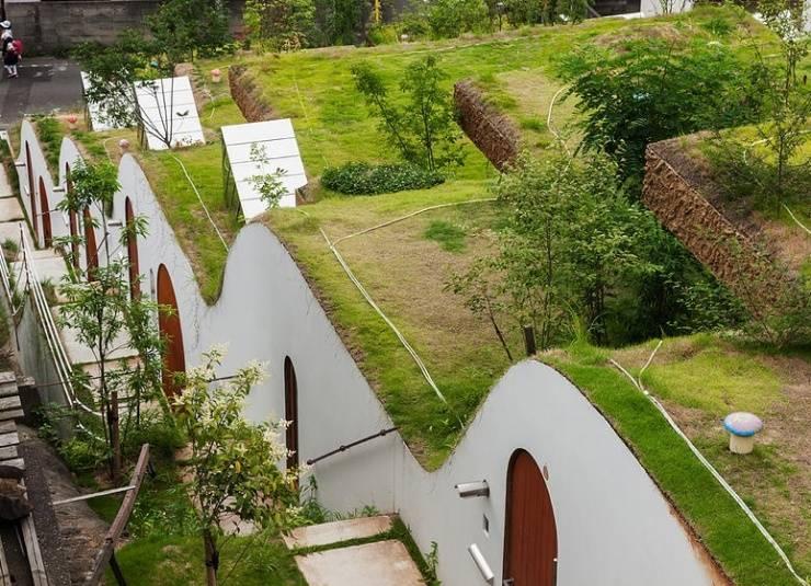 """牛人设计绝美""""屋顶花园"""""""