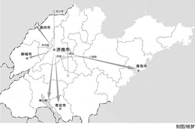 山东地图简笔画步骤