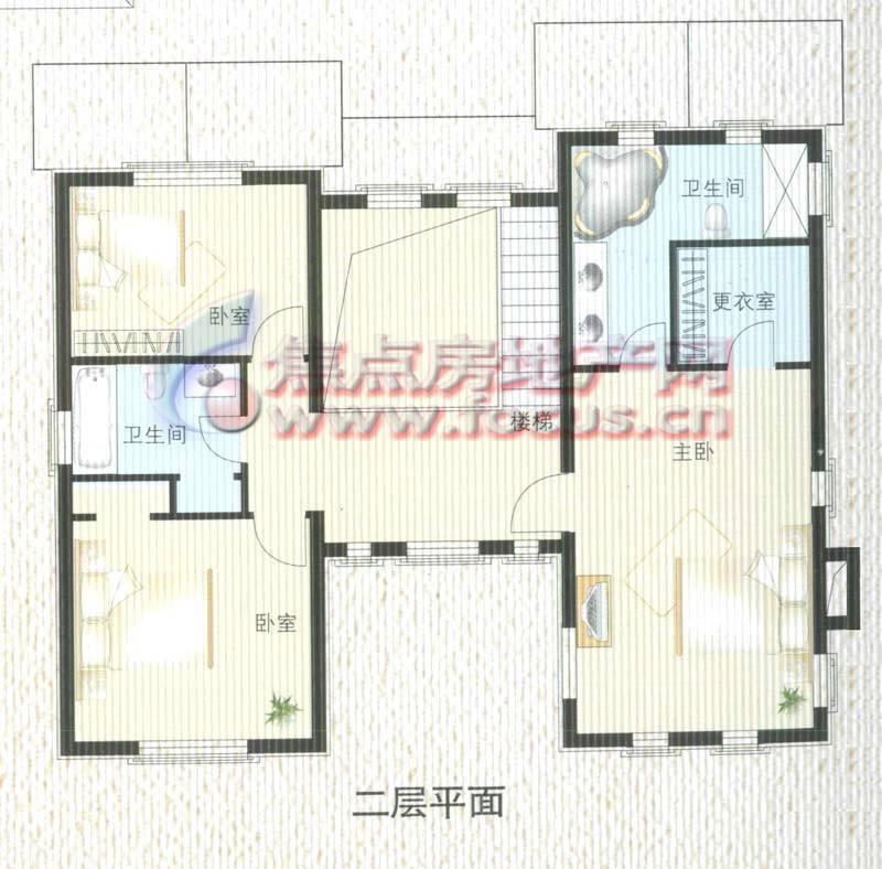 农村一层平房设计图_房屋设计图_无忧图纸库-无忧建房网-北京屋顶装