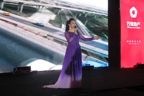 张海静演唱《亲爱的中国,我爱你》
