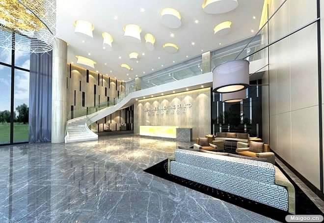 【写字楼大厅】5a写字楼豪华大厅设计图片