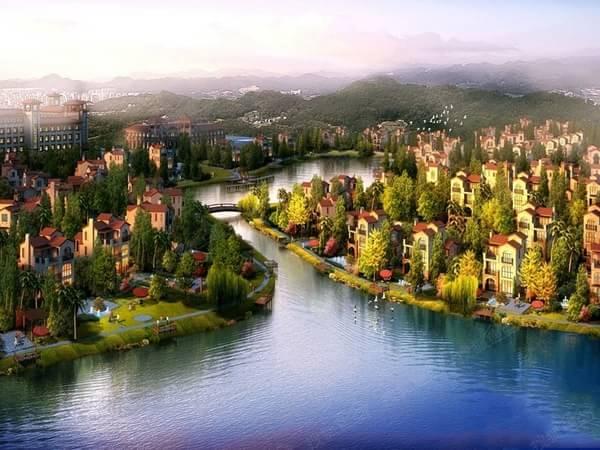 [山湖鹭岛]257-644平独栋湖景别墅享8万抵20万