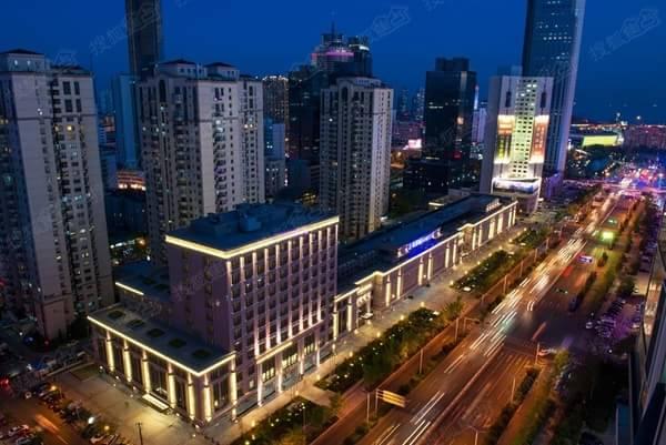 [泛海国际购物中心]香港中路cbd综合体8亿整售-青岛