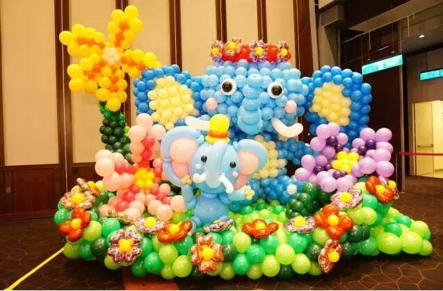 疯狂动物城气球展