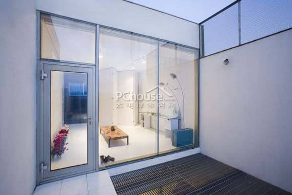 裂纹式装修风格设计 韩国现代创意别墅欣赏