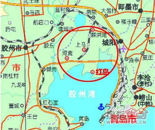 """由此,红岛新区在青岛的""""大青岛""""发展战略中尤为重要."""