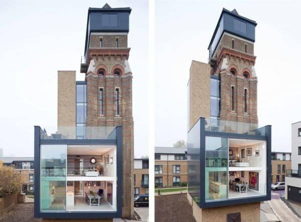奇妙灵感 伦敦水塔改造现代奢华公寓(图)