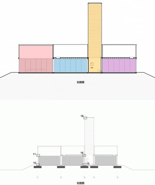 船运集装箱和旧筒仓改建而成的学生宿舍    几年前,这些堆砌在约翰内斯堡附近的旧筒仓还无人问津,破败地被人看作是城市垃圾的一份子。如今,一名当地开放商决定购买这些垃圾,并用其改造一处学生公寓,筒仓上面则是由船运集装箱堆叠而成的房子。     这些旧筒仓大约有10层楼高,开发公司的CEO表示:在筒仓上面建房屋并不容易,所以我们想何不在上面叠加四层高左右的集装箱呢?这样看起来也非常具有震撼力。而且可以更好地俯瞰整个城市的风景。     内部设计以简洁为主,采用了各种明亮的色彩,使房间具有现代感。除了公