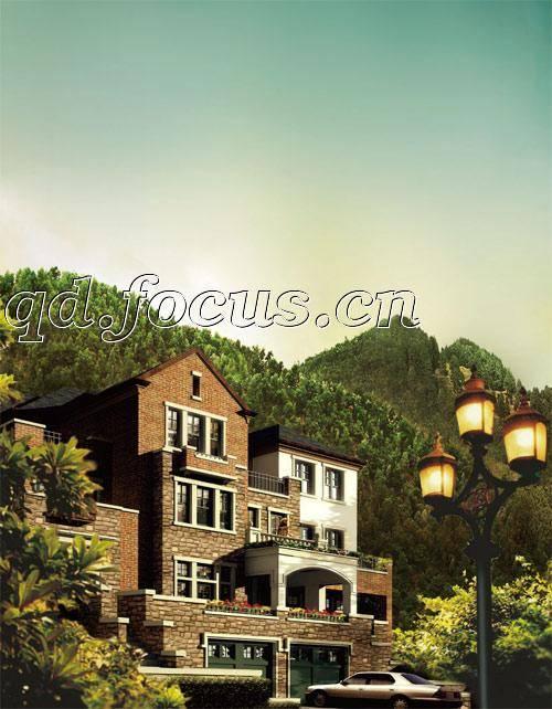 三,建筑风格    桐雅庭选用北欧,诺曼两种经典山地别墅建筑风格